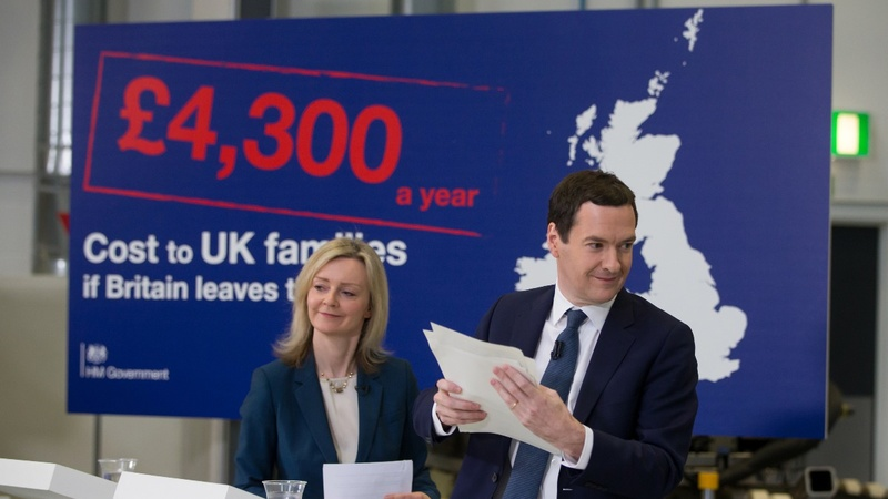 Osborne's EU exit price tag challenged