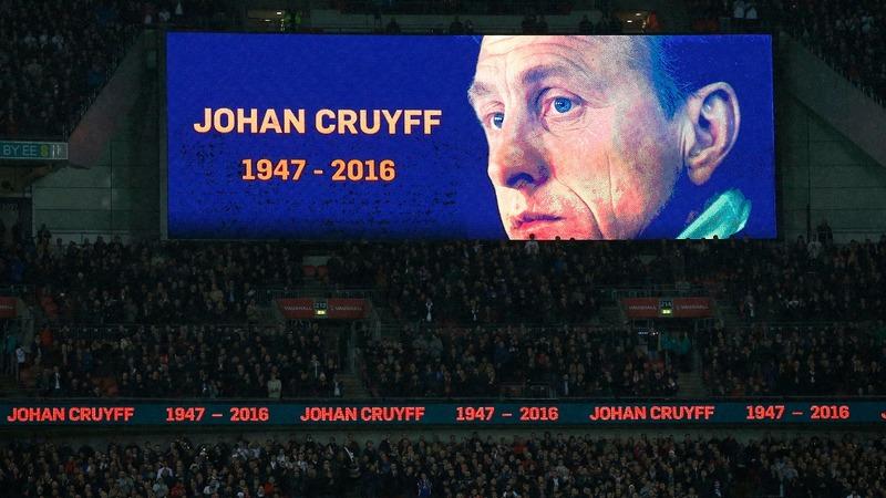 VERBATIM: Cruyff awarded 'Spirit of Sport'