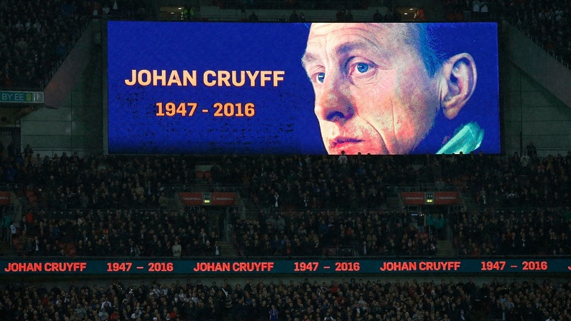 VERBATIM: Cruyff awarded 'Spirit of Sport'