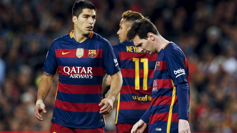 Barcelona's treble looking as faded as its stars