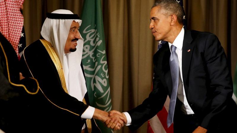 Obama set to court Gulf in Riyadh trip