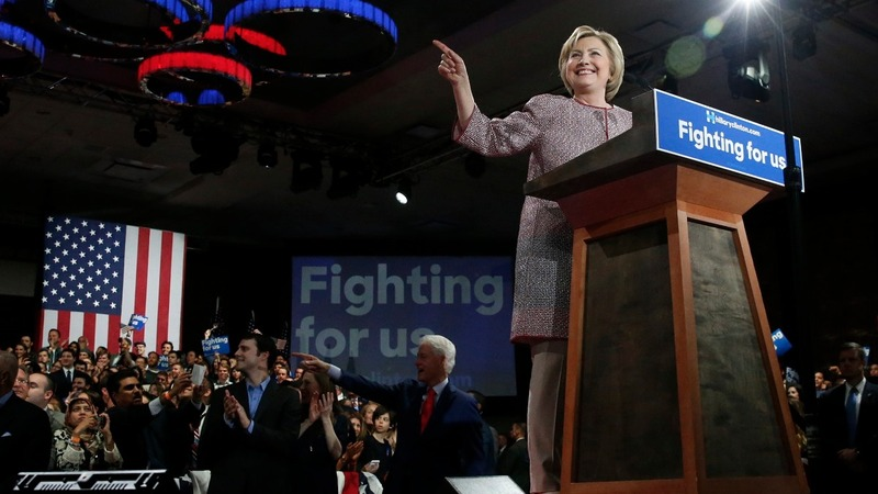 Clinton's NY win puts 'victory in sight'