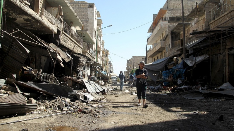 Syrian talks seem doomed as strike kills dozens