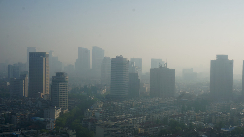 China's smog is heading west: Greenpeace