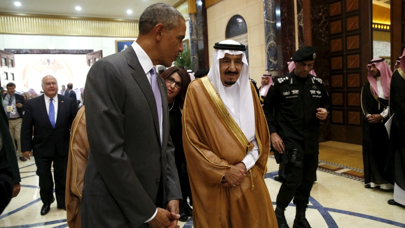 Obama meets Saudi king amid tensions