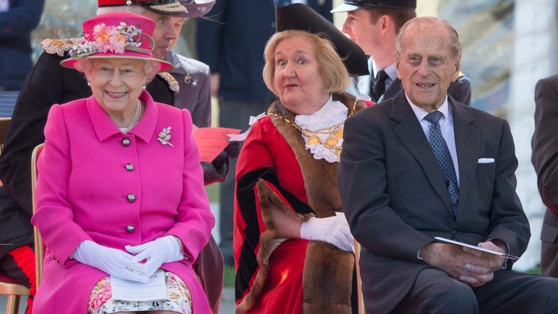 Queen working on the eve of 90th birthday