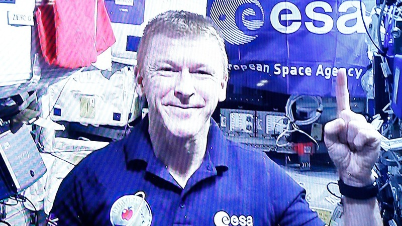 VERBATIM: Peake preps for space marathon