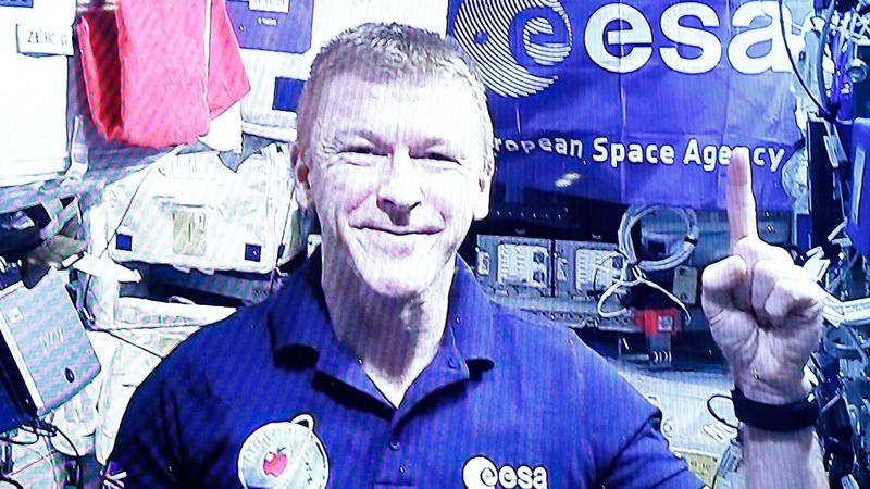 VERBATIM: Peake preps for space marathon