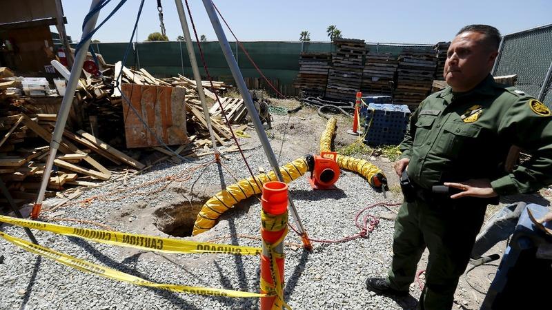 Feds uncover elaborate border drug tunnel