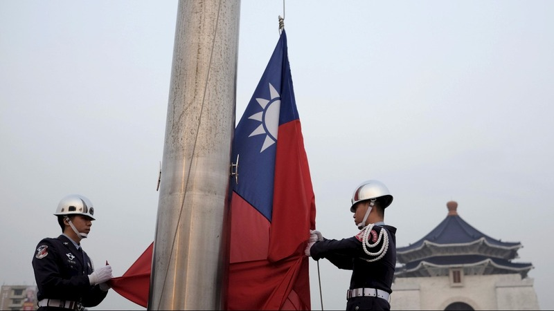 China ratchets up the pressure on Taiwan