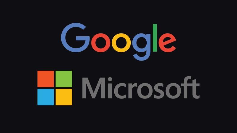 Google, Microsoft drop on weak results