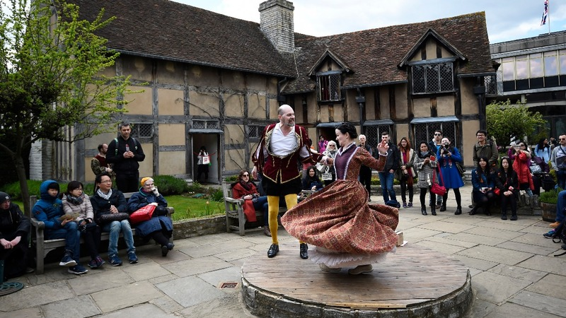 A celebration of Shakespeare at his birthplace