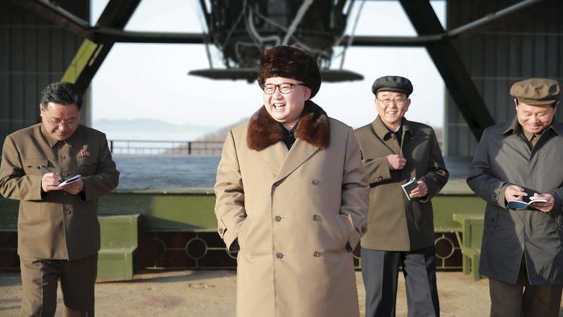 North Korea fires submarine missile