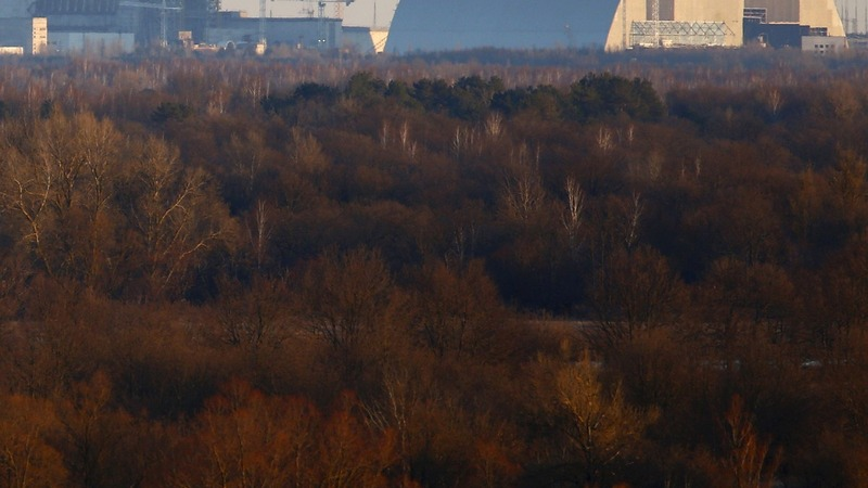 Retiring in Chernobyl's radioactive shadow