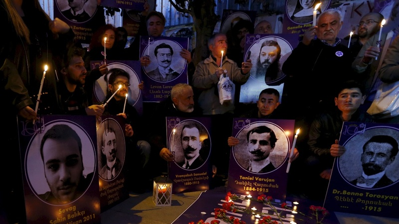 Armenian massacre marked amid growing tensions