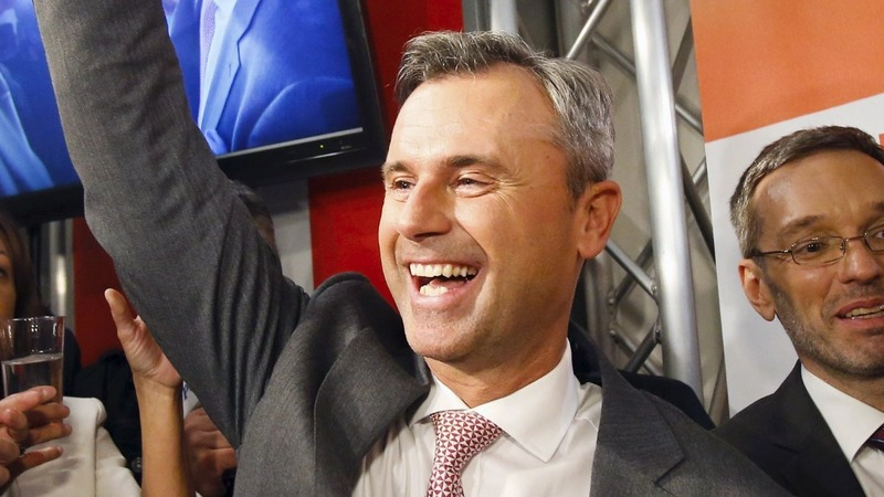 Far right wins first round of Austria election