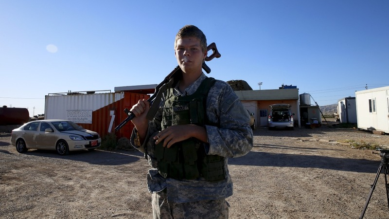 U.S. volunteers fighting IS alongside Kurds
