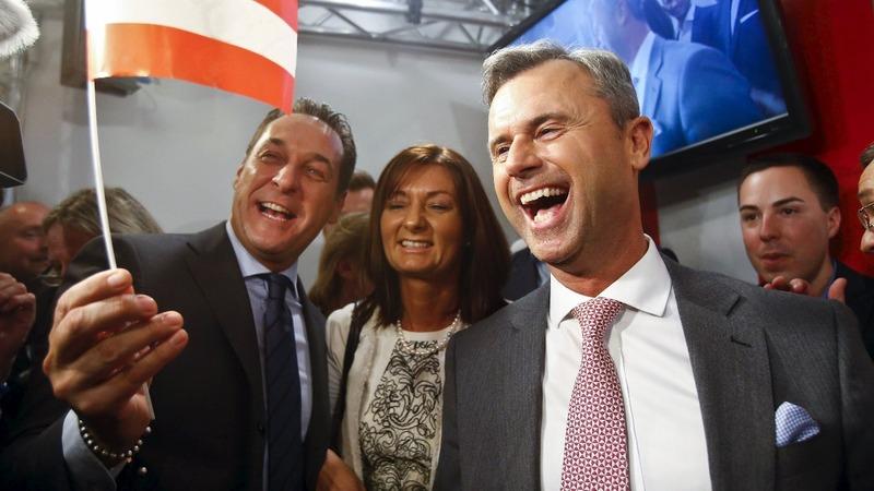 Far right wins first round of Austrian vote