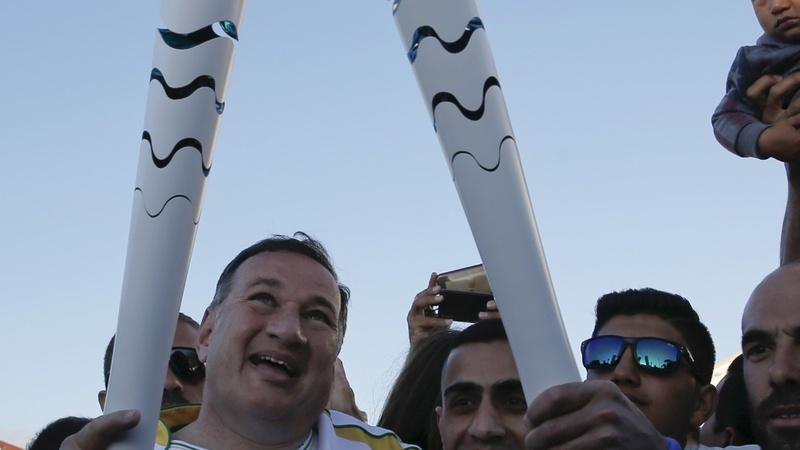 INSIGHT: Syrian amputee carries Rio flame