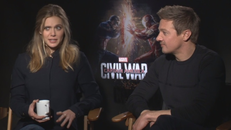 VERBATIM: Captain America cast give advice
