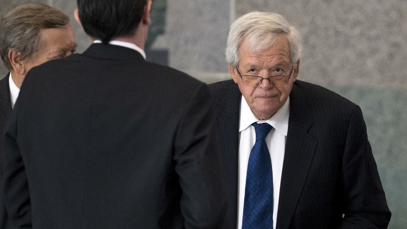 Ex-Speaker Hastert sentenced to prison for sexual abuse