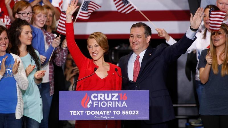 VERBATIM: Cruz's singing '16 sidekick