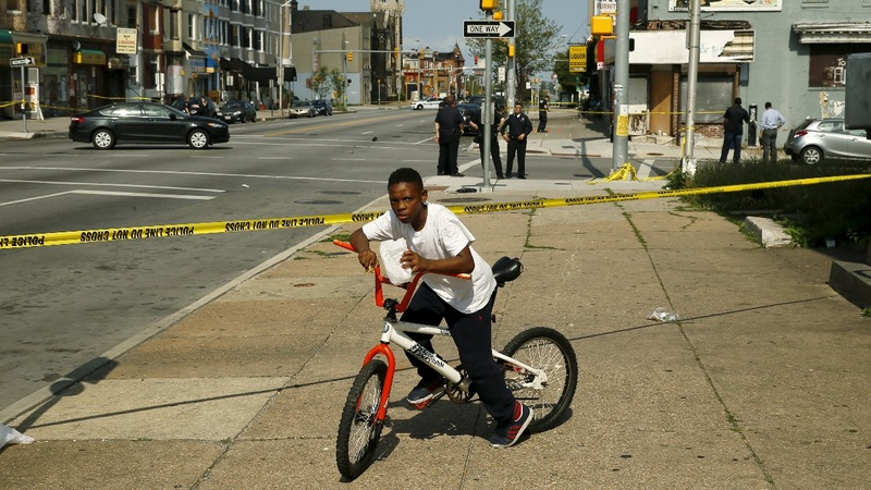 Baltimore cop shoots 13-yr-old on riot anniversary
