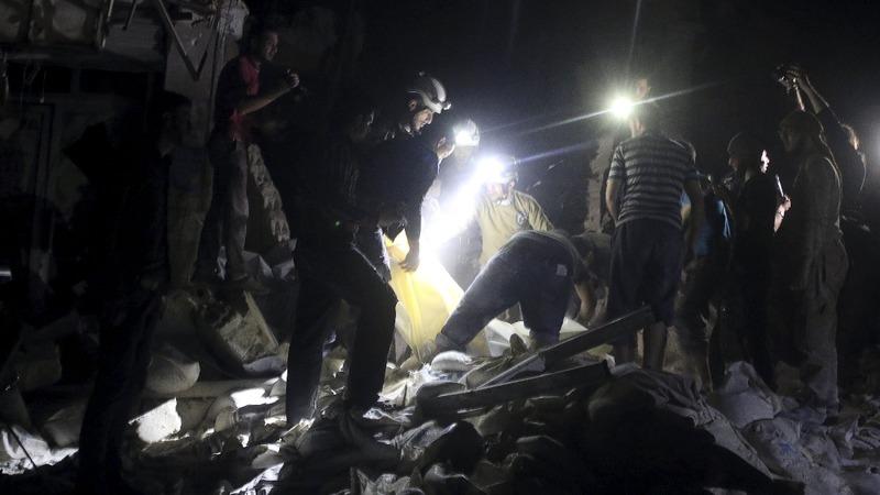 Air strike kills doctors, kids in Syria hospital
