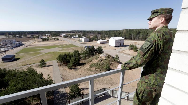 Fearing Russia, Baltics brace for battle