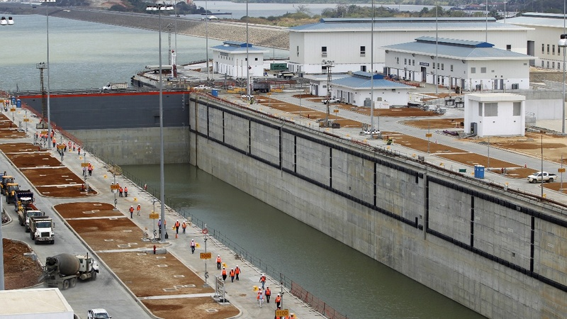 Panama Canal extension no quick fix