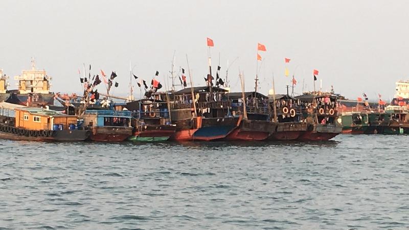 Beijing's South China Sea fishing militia