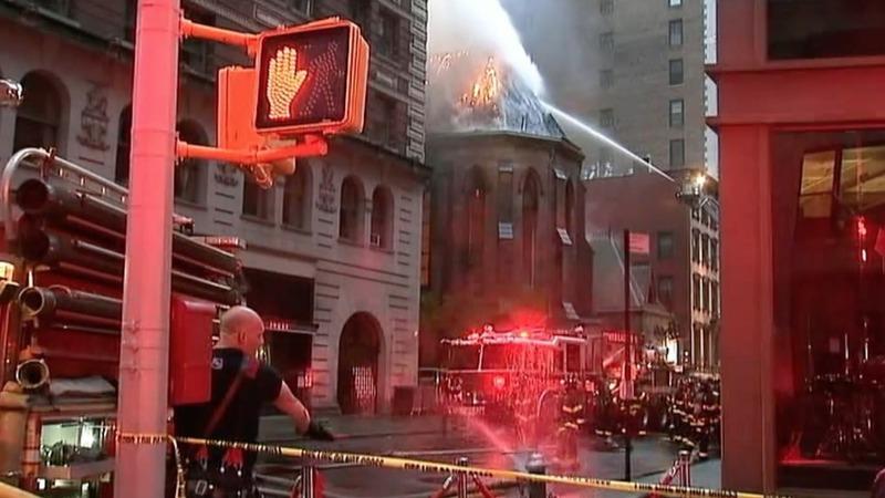 INSIGHT: Firefighters battle church blaze