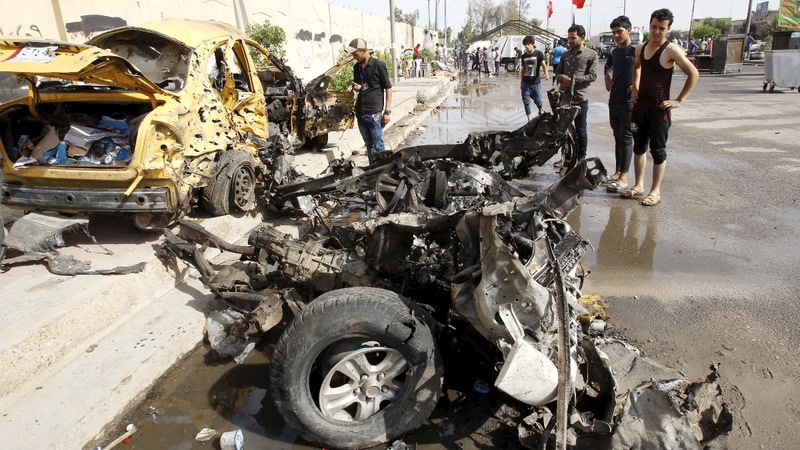 Bomb blasts in Baghdad kill 14