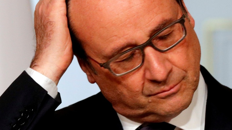 France's unpopular President Hollande eyes re-election bid