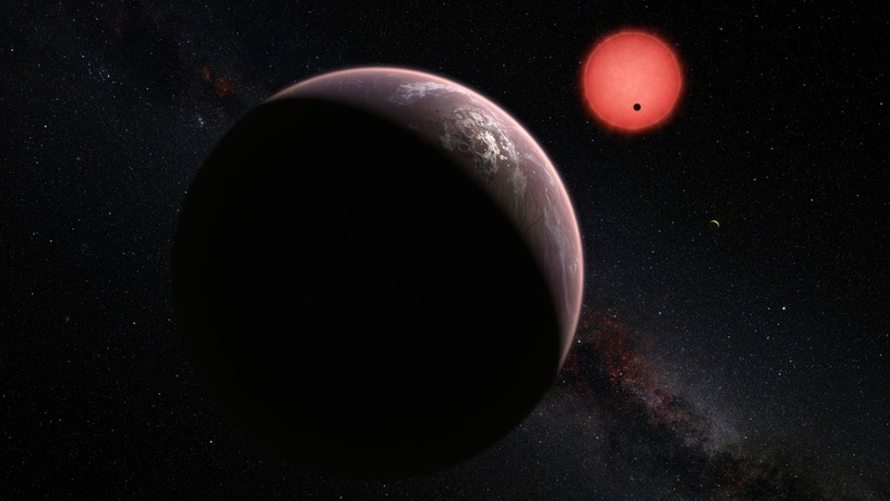 Newly-discovered planets may contain life