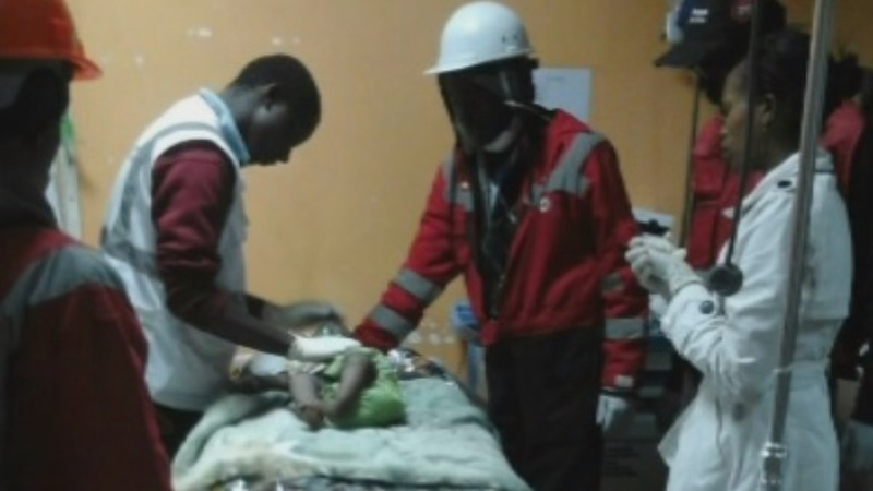 Baby found alive 3 days after Kenya collapse