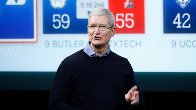 Tim Cook to the rescue after Apple's epic slump