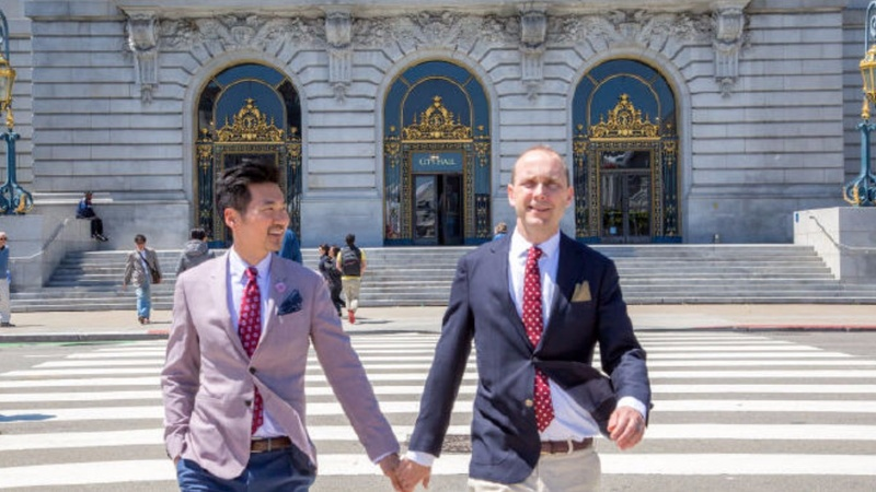 China cheers U.S. diplomat's same-sex marriage