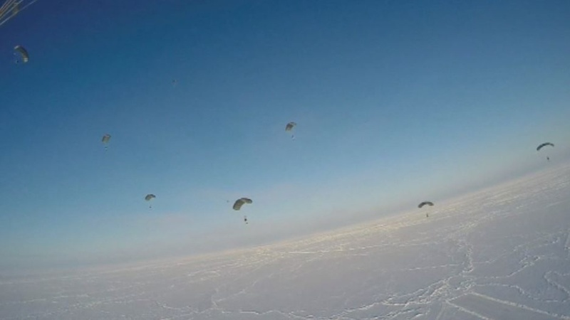 INSIGHT: Chechen forces conduct North Pole drill