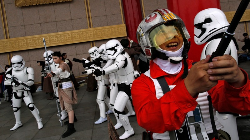 'Star Wars Day' celebrated across (cyber)space