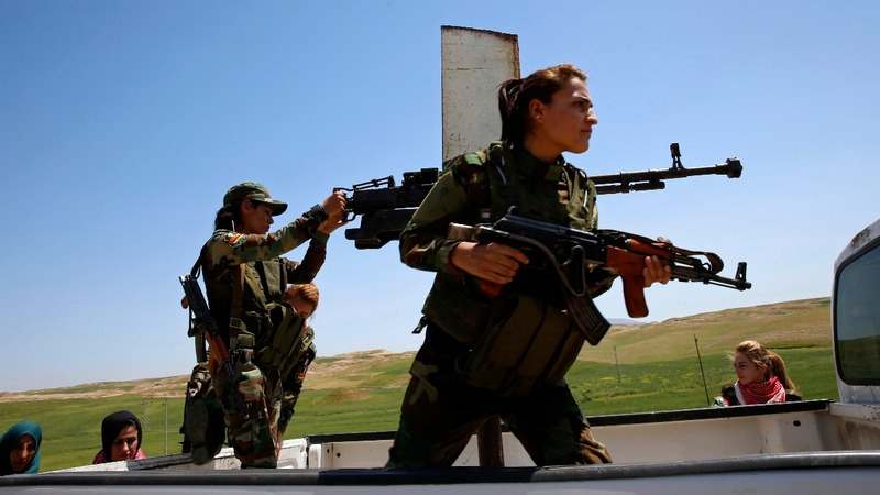 Iraq's frontline females battle Islamic State