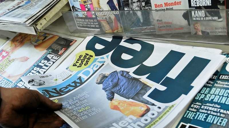 Final hours for The New Day newspaper