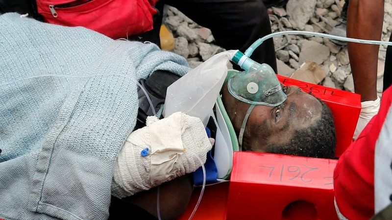 More survivors rescued from Kenya rubble