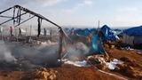 Dozens killed in strikes on Syrian refugee camp