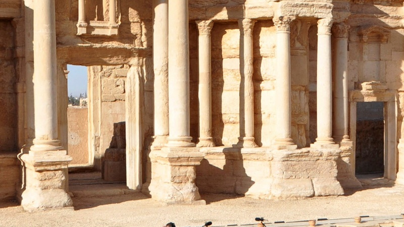 INSIGHT: It's Bach not bombs in Palmyra