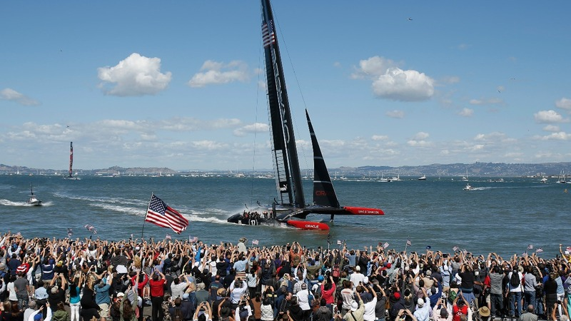 America's Cup sails through NYC