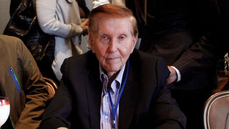 Sumner Redstone trial begins with expletives