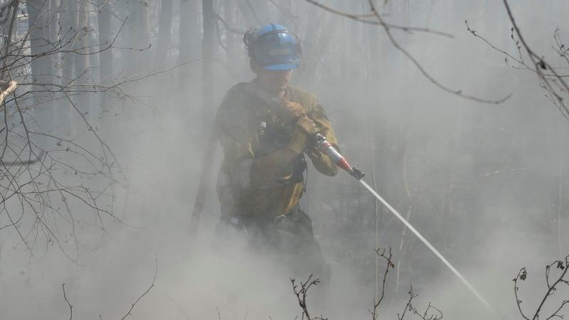 Wildfires in Alberta growing explosively