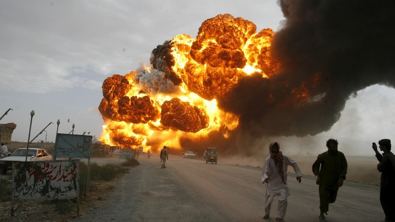 Dozens killed in Afghan fuel tanker crash