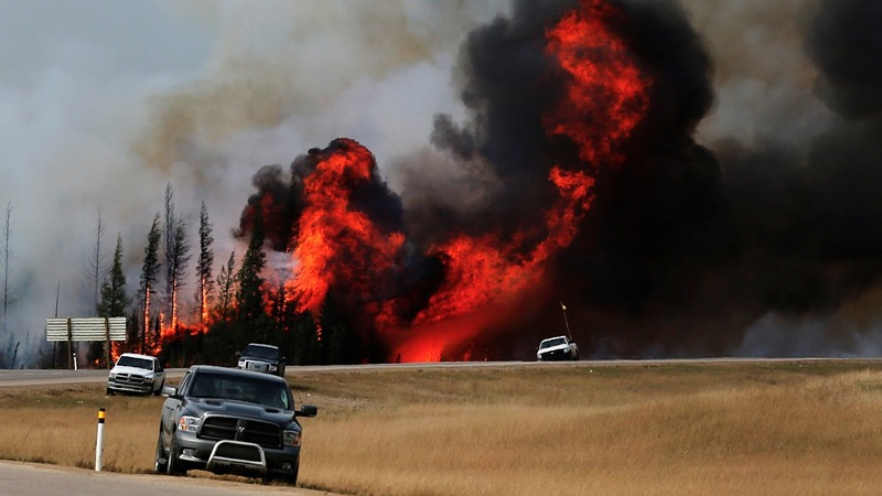 Canada wildfire could burn 'for months'